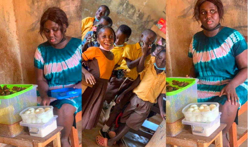 GES hunts for Abenah Serwaah Mankosa Teacher Who Uses Her Salary To Feed Pupils