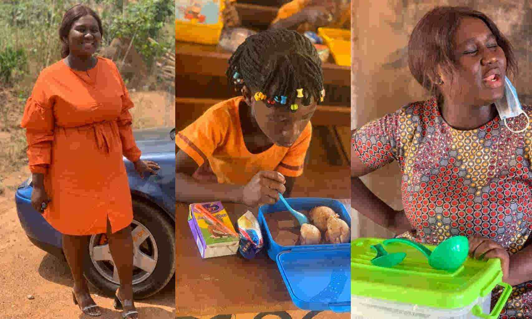 Ghanaians Descend On GES For Sanctioning A Teacher Who Used Her Resources To Feed Her Pupils Lunch Everyday